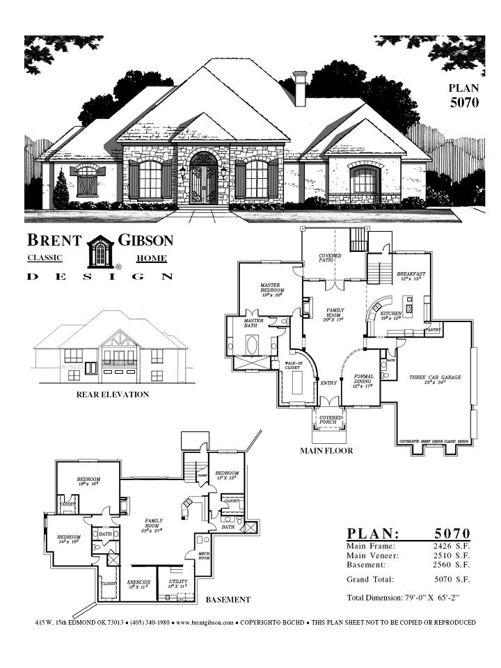 Basement remodeling ideas floor plans with basement for Open floor house plans with walkout basement